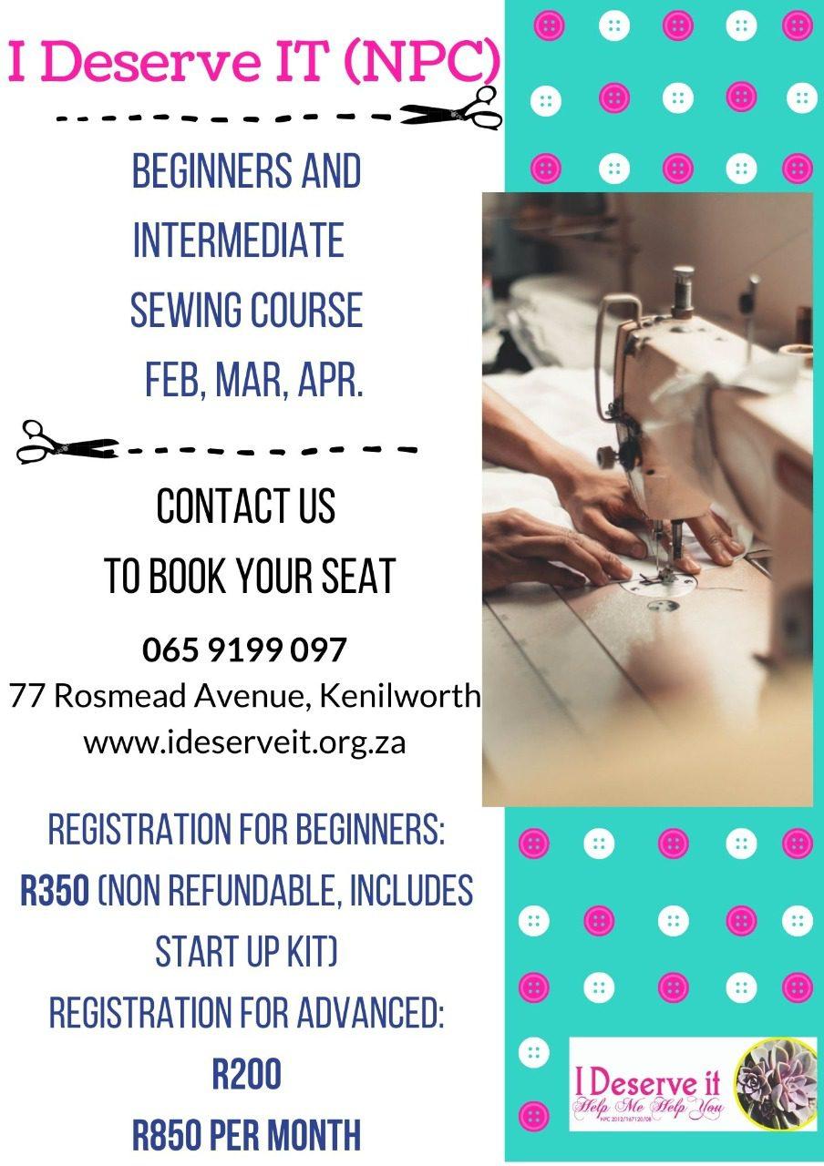 sewing details flyer