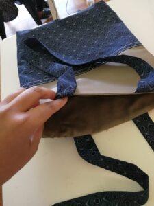 Lined Bag Inside