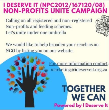 Non Profits Unite campaign