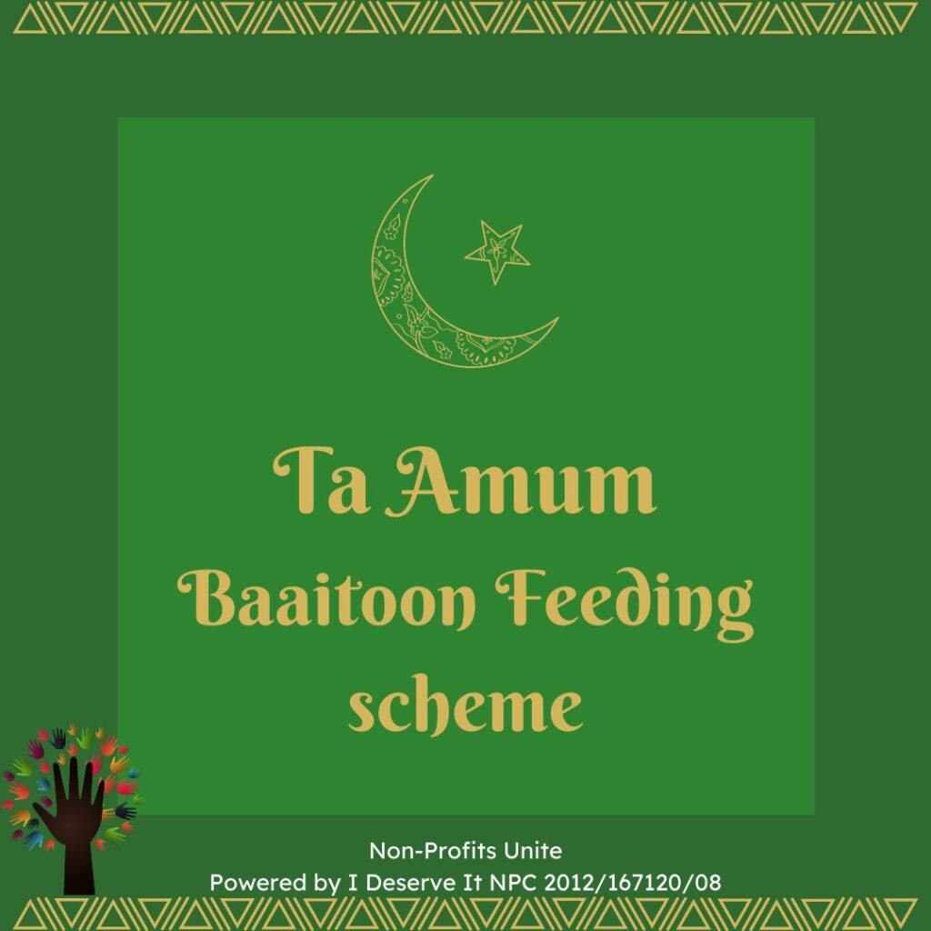 TA AMUM BAAITOON FEEDING SCHEME